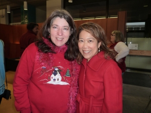 The wonderfully talented Betty Booher and me. We finally did some catching up!